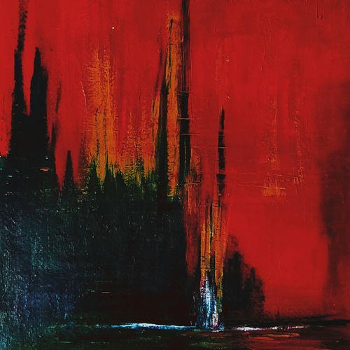 red forest, 8 x 12 inch, nidhi singhal,8x12inch,thick paper,abstract paintings,landscape paintings,paintings for living room,paintings for bedroom,paintings for hotel,paintings for living room,paintings for bedroom,paintings for hotel,acrylic color,GAL01399425166