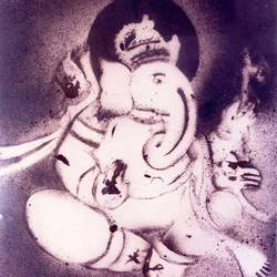 ganesha-p1, 20 x 24 inch, anand manchiraju,20x24inch,thick paper,paintings,ganesha paintings,paintings for dining room,paintings for office,paintings for hotel,paintings for hospital,mixed media,GAL01254025191