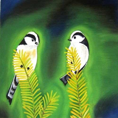 love birds, 10 x 12 inch, aparna warade,landscape paintings,paintings for bedroom,love paintings,canvas,oil,10x12inch,GAL089252heart,family,caring,happiness,forever,happy,trust,passion,romance,sweet,kiss,love,hugs,warm,fun,kisses,joy,friendship,marriage,chocolate,husband,wife,forever,caring,couple,sweetheart