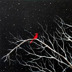 winter bliss, 36 x 36 inch, vishal shrimani,36x36inch,canvas,paintings,abstract paintings,cityscape paintings,modern art paintings,nature paintings,art deco paintings,illustration paintings,street art,paintings for dining room,paintings for living room,paintings for bedroom,paintings for office,paintings for hospital,acrylic color,GAL0911425268