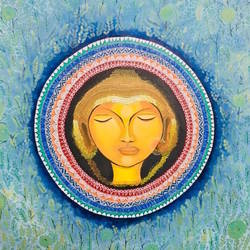 detailed buddha , 30 x 30 inch, pratiksha jain,30x30inch,canvas,buddha paintings,paintings for dining room,paintings for living room,paintings for office,paintings for hotel,paintings for school,paintings for hospital,paintings for dining room,paintings for living room,paintings for office,paintings for hotel,paintings for school,paintings for hospital,acrylic color,GAL01309325297