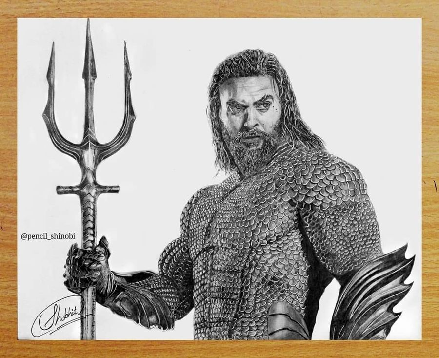 aquaman - jason momoa (34cm x 28cm), 11 x 14 inch, shobhit verma,11x14inch,paper,paintings for dining room,paintings for living room,paintings for bedroom,paintings for office,paintings for bathroom,paintings for kids room,paintings for hotel,paintings for school,expressionism drawings,fine art drawings,impressionist drawings,photorealism drawings,portrait drawings,realism drawings,surrealism drawings,paintings for dining room,paintings for living room,paintings for bedroom,paintings for office,paintings for bathroom,paintings for kids room,paintings for hotel,paintings for school,charcoal,graphite pencil,paper,GAL01429325317