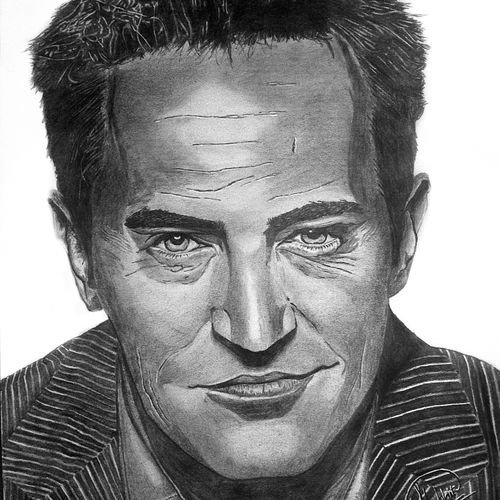 chandler bing - a3, 14 x 11 inch, shobhit verma,14x11inch,paper,drawings,documentary drawings,expressionism drawings,figurative drawings,fine art drawings,impressionist drawings,photorealism drawings,portrait drawings,realism drawings,surrealism drawings,paintings for dining room,paintings for living room,paintings for bedroom,paintings for office,paintings for bathroom,paintings for kids room,paintings for hotel,paintings for kitchen,paintings for school,paintings for hospital,charcoal,graphite pencil,paper,GAL01429325318