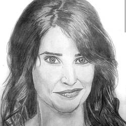 robin scherbatsky - cobie smulders - a4, 12 x 8 inch, shobhit verma,12x8inch,paper,drawings,documentary drawings,expressionism drawings,figurative drawings,fine art drawings,illustration drawings,impressionist drawings,photorealism drawings,portrait drawings,realism drawings,surrealism drawings,paintings for dining room,paintings for living room,paintings for bedroom,paintings for office,paintings for bathroom,paintings for kids room,paintings for hotel,paintings for kitchen,paintings for school,paintings for hospital,charcoal,graphite pencil,paper,GAL01429325329
