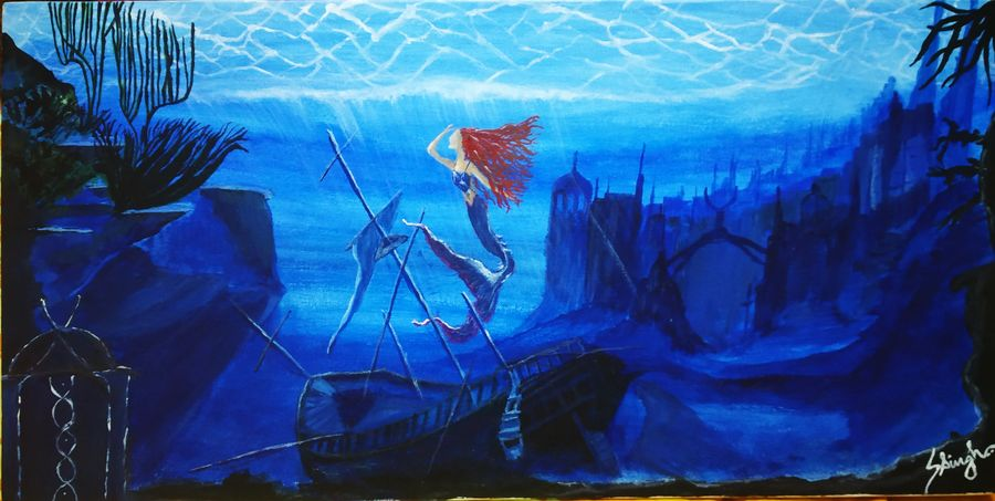 underwater mysteries, 24 x 12 inch, sneha singh,24x12inch,canvas,conceptual paintings,abstract expressionism paintings,art deco paintings,expressionism paintings,paintings for dining room,paintings for living room,paintings for bedroom,paintings for office,paintings for bathroom,paintings for hotel,paintings for kitchen,paintings for school,paintings for hospital,paintings for dining room,paintings for living room,paintings for bedroom,paintings for office,paintings for bathroom,paintings for hotel,paintings for kitchen,paintings for school,paintings for hospital,acrylic color,GAL01445325342
