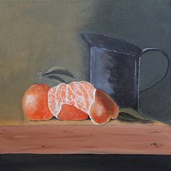 still life painting, 10 x 10 inch, adithya  muralidharan ,10x10inch,canvas board,paintings,still life paintings,paintings for dining room,paintings for kitchen,acrylic color,GAL01251525420