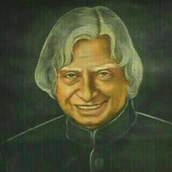 dr. abdul kalam portrait, 18 x 24 inch, sk srivastava,18x24inch,canvas,portrait paintings,paintings for office,paintings for office,oil color,GAL01382325460