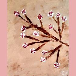 blossom, 10 x 14 inch, aarushi singhal,10x14inch,canvas,paintings,abstract paintings,acrylic color,GAL01486025553