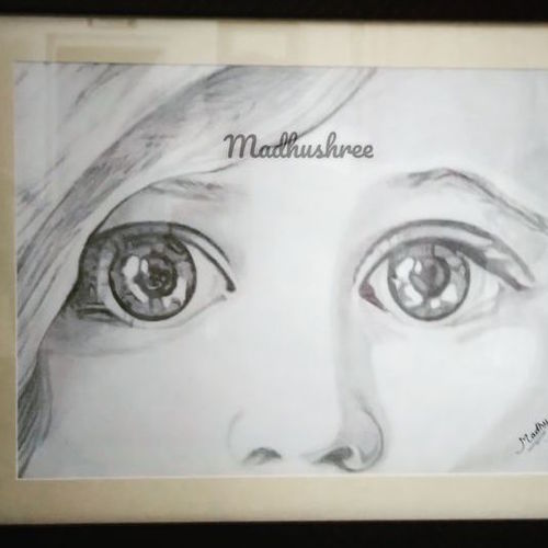 emotions, 18 x 22 inch, madhushree pawar,18x22inch,drawing paper,drawings,figurative drawings,fine art drawings,portrait drawings,paintings for dining room,paintings for living room,paintings for bedroom,paintings for office,paintings for kids room,paintings for hotel,paintings for school,paintings for hospital,graphite pencil,paper,GAL01458325616