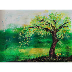 tree of life, 16 x 12 inch, priyanshu sharma,16x12inch,thick paper,paintings,abstract paintings,wildlife paintings,landscape paintings,nature paintings,art deco paintings,paintings for dining room,paintings for living room,paintings for bedroom,paintings for office,paintings for hotel,paintings for hospital,acrylic color,GAL0973625711