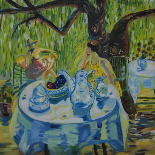 garden , 25 x 30 inch, shikha gupta,25x30inch,canvas,paintings,landscape paintings,modern art paintings,contemporary paintings,paintings for dining room,paintings for living room,paintings for hotel,paintings for school,paintings for hospital,oil color,GAL0573825721