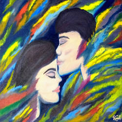 eternal love, 18 x 14 inch, komal meena,18x14inch,canvas,paintings,abstract paintings,figurative paintings,modern art paintings,conceptual paintings,portrait paintings,abstract expressionism paintings,art deco paintings,expressionism paintings,illustration paintings,impressionist paintings,surrealism paintings,contemporary paintings,love paintings,paintings for bedroom,paintings for hotel,oil color,GAL01440625724