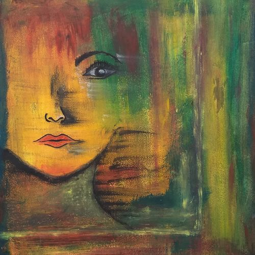 lost, 11 x 16 inch, komal meena,11x16inch,thick paper,paintings,abstract paintings,figurative paintings,modern art paintings,conceptual paintings,portrait paintings,abstract expressionism paintings,art deco paintings,expressionism paintings,impressionist paintings,pop art paintings,paintings for dining room,paintings for living room,paintings for bedroom,paintings for office,paintings for bathroom,paintings for hotel,oil color,GAL01440625732