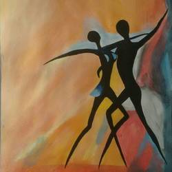 dancing couple, 10 x 12 inch, puja nag,modern art paintings,paintings for bedroom,love paintings,paper,acrylic color,10x12inch,GAL09192576heart,family,caring,happiness,forever,happy,trust,passion,romance,sweet,kiss,love,hugs,warm,fun,kisses,joy,friendship,marriage,chocolate,husband,wife,forever,caring,couple,sweetheart