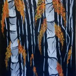 black and white bamboo stick, 12 x 16 inch, deepjyoti behuria,12x16inch,canvas,paintings,expressionism paintings,paintings for dining room,acrylic color,GAL01507225773