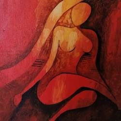my lady, 18 x 14 inch, smitha g krishnan,18x14inch,canvas board,abstract paintings,modern art paintings,conceptual paintings,paintings for dining room,paintings for living room,paintings for bedroom,paintings for bathroom,paintings for hotel,paintings for dining room,paintings for living room,paintings for bedroom,paintings for bathroom,paintings for hotel,acrylic color,GAL01502425788