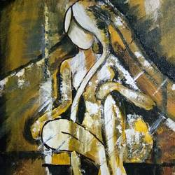 stree, 12 x 16 inch, v s gaurav narayan,12x16inch,canvas board,paintings,abstract paintings,figurative paintings,paintings for dining room,paintings for living room,paintings for bedroom,paintings for office,paintings for bathroom,paintings for kids room,paintings for hotel,paintings for kitchen,paintings for school,paintings for hospital,oil color,GAL01045425791