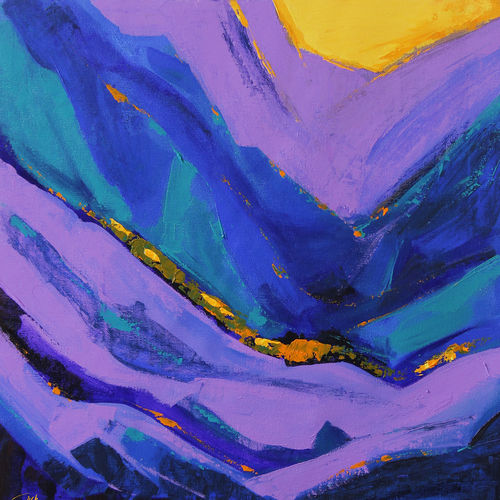 grand canyon- 4, 18 x 18 inch, gurdish pannu,18x18inch,canvas,paintings,nature paintings,paintings for dining room,paintings for living room,paintings for office,paintings for dining room,paintings for living room,paintings for office,acrylic color,GAL0253725816