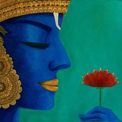 peaceful lord ram , 34 x 28 inch, kangana vohra,34x28inch,canvas,paintings,figurative paintings,flower paintings,folk art paintings,modern art paintings,conceptual paintings,religious paintings,portrait paintings,expressionism paintings,portraiture,surrealism paintings,radha krishna paintings,contemporary paintings,lord shiva paintings,paintings for dining room,paintings for living room,paintings for bedroom,paintings for office,paintings for kids room,paintings for hotel,paintings for school,paintings for hospital,acrylic color,ink color,pen color,GAL0725825838