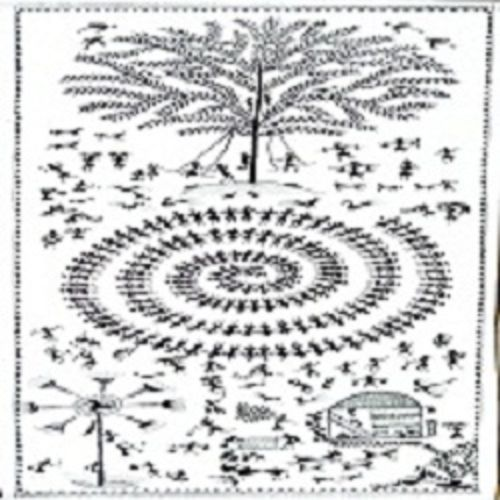 ancient   warli arts  on handmade paper, 9 x 22 inch, harpreet kaur punn,9x22inch,handmade paper,paintings,figurative paintings,conceptual paintings,warli paintings,paintings for dining room,paintings for living room,paintings for office,paintings for hotel,acrylic color,paper,GAL0599725890