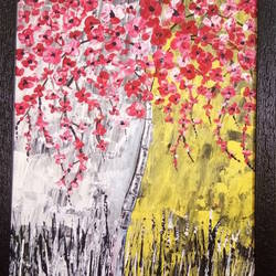 spring, 14 x 18 inch, dr basavaraj  bommanahalli ,14x18inch,canvas,abstract paintings,acrylic color,GAL01352625902