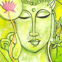 buddha painting, 11 x 14 inch, niharika pansari,11x14inch,drawing paper,paintings,buddha paintings,religious paintings,illustration paintings,watercolor,GAL01511725904