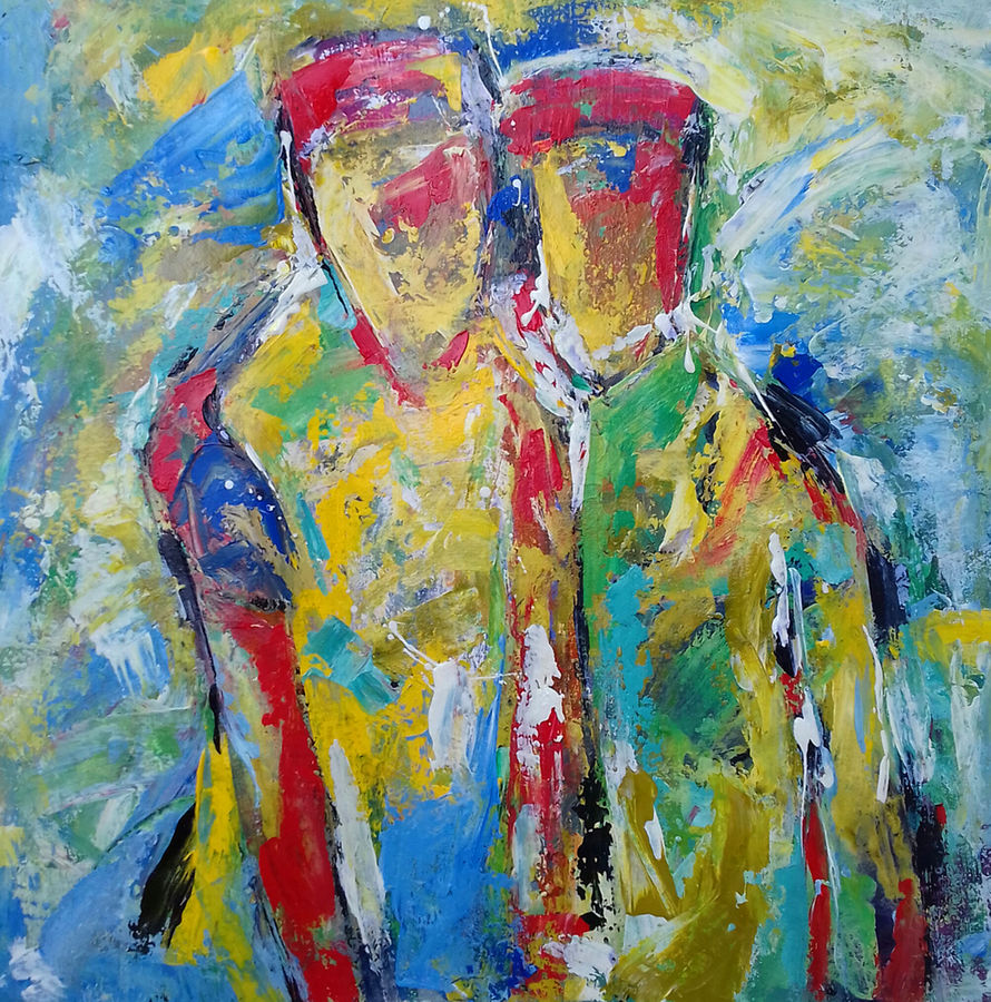 abstract nature, 42 x 34 inch, prasanta acharjee,42x34inch,canvas,paintings,abstract paintings,modern art paintings,nature paintings,expressionism paintings,impressionist paintings,contemporary paintings,paintings for living room,paintings for bedroom,paintings for office,paintings for hotel,paintings for hospital,acrylic color,GAL0360526005
