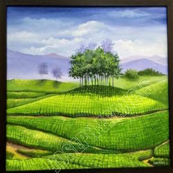 landscape kerala, 24 x 24 inch, joseph francis,24x24inch,canvas,abstract paintings,cityscape paintings,landscape paintings,religious paintings,nature paintings,horse paintings,acrylic color,pastel color,GAL01304426007