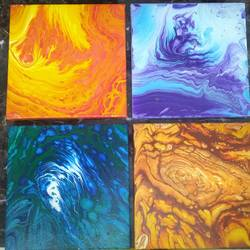 the four elements, 8 x 8 inch, runjhun saxena,8x8inch,canvas,paintings,abstract paintings,modern art paintings,conceptual paintings,art deco paintings,contemporary paintings,paintings for dining room,paintings for living room,paintings for bedroom,paintings for office,paintings for bathroom,paintings for kids room,paintings for hotel,paintings for kitchen,paintings for school,paintings for hospital,acrylic color,GAL01530426051