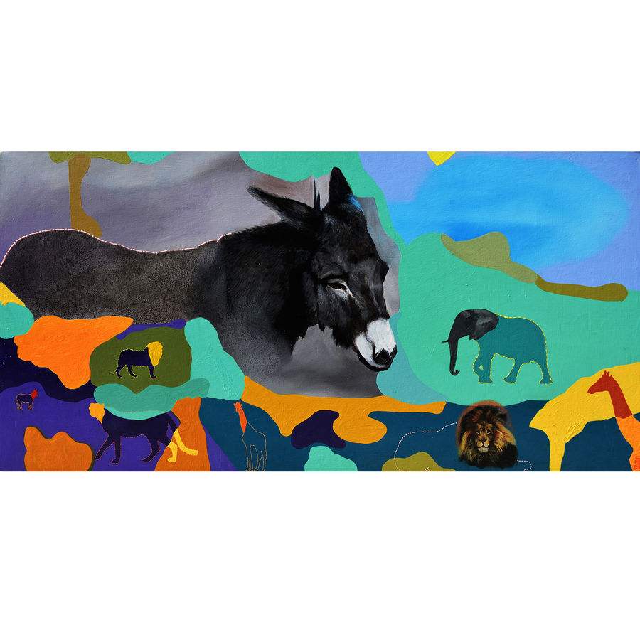 winner, 60 x 30 inch, kevin massey,60x30inch,canvas,paintings,abstract paintings,wildlife paintings,figurative paintings,modern art paintings,conceptual paintings,portrait paintings,nature paintings,art deco paintings,illustration paintings,photorealism paintings,photorealism,pop art paintings,portraiture,realism paintings,surrealism paintings,animal paintings,realistic paintings,horse paintings,dog painting,children paintings,paintings for dining room,paintings for living room,paintings for bedroom,paintings for office,paintings for bathroom,paintings for kids room,paintings for hotel,paintings for kitchen,paintings for school,paintings for hospital,paintings for dining room,paintings for living room,paintings for bedroom,paintings for office,paintings for bathroom,paintings for kids room,paintings for hotel,paintings for kitchen,paintings for school,paintings for hospital,acrylic color,GAL01538926083,animals,wildlife,donkey elephant,dog,lion,giraffe