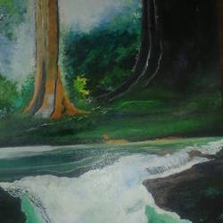 forest diaries, 15 x 19 inch, archana oswal,15x19inch,canvas board,paintings,landscape paintings,nature paintings,paintings for dining room,paintings for living room,paintings for bedroom,paintings for office,paintings for kids room,paintings for hotel,paintings for kitchen,paintings for school,paintings for hospital,acrylic color,GAL01469326122