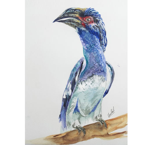 wild life portrait , 8 x 12 inch, senthil kumar a,8x12inch,thick paper,paintings,wildlife paintings,still life paintings,portrait paintings,nature paintings,realism paintings,animal paintings,children paintings,kids paintings,paintings for dining room,paintings for living room,paintings for bedroom,paintings for office,paintings for kids room,paintings for hotel,paintings for school,paintings for hospital,acrylic color,mixed media,watercolor,GAL01543426124