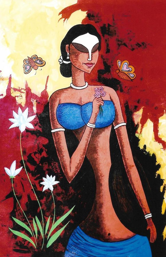 beauty in nature, 24 x 36 inch, kirtiraj mhatre,24x36inch,canvas,figurative paintings,paintings for dining room,paintings for living room,paintings for bedroom,paintings for office,paintings for hotel,paintings for dining room,paintings for living room,paintings for bedroom,paintings for office,paintings for hotel,acrylic color,GAL0168126131