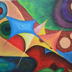 mismatch, 28 x 20 inch, vijaya chavan,28x20inch,canvas,paintings,abstract paintings,modern art paintings,conceptual paintings,abstract expressionism paintings,art deco paintings,paintings for dining room,paintings for living room,paintings for bedroom,paintings for office,paintings for bathroom,paintings for kids room,paintings for hotel,paintings for kitchen,paintings for school,paintings for hospital,acrylic color,mixed media,GAL01546626163