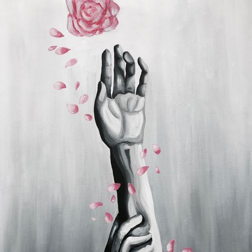 roses, 17 x 29 inch, aarya  singh,flower paintings,paintings for dining room,paintings for office,love paintings,canvas,acrylic color,17x29inch,GAL09922617heart,family,caring,happiness,forever,happy,trust,passion,romance,sweet,kiss,love,hugs,warm,fun,kisses,joy,friendship,marriage,chocolate,husband,wife,forever,caring,couple,sweetheart