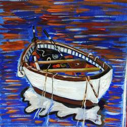 boat painting 3, 10 x 12 inch, priyanka bhise,10x12inch,canvas,paintings,modern art paintings,paintings for dining room,paintings for living room,paintings for bedroom,paintings for office,paintings for kids room,paintings for hotel,paintings for kitchen,paintings for school,acrylic color,GAL01495026177