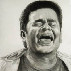 a.r. rahman, 10 x 14 inch, shivkumar  menon,portrait drawings,paintings for living room,drawing paper,graphite pencil,10x14inch,GAL09862619