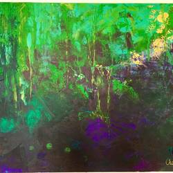 aarray -the forest , 48 x 36 inch, charru kinra,48x36inch,canvas,paintings,abstract paintings,paintings for bedroom,acrylic color,GAL01559126248