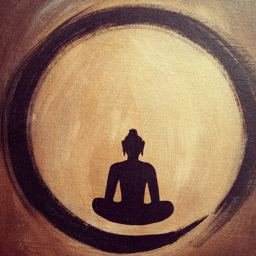 buddha, 10 x 12 inch, n paul,buddha paintings,paintings for office,paintings for living room,canvas,acrylic color,10x12inch,GAL09372625