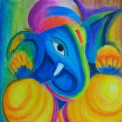 sri siddhivinayak namah, 12 x 16 inch, lipsa padhan,12x16inch,canvas,paintings,abstract paintings,religious paintings,ganesha paintings | lord ganesh paintings,paintings for living room,paintings for office,paintings for kids room,paintings for hotel,paintings for kitchen,paintings for school,paintings for hospital,paintings for living room,paintings for office,paintings for hotel,paintings for kitchen,paintings for school,paintings for hospital,pastel color,GAL01561126271