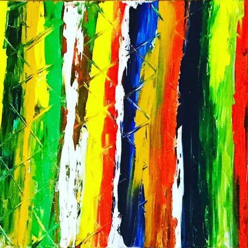 spectrum of colors, 10 x 14 inch, anuj sarkar,10x14inch,canvas,paintings,abstract paintings,art deco paintings,contemporary paintings,paintings for dining room,paintings for living room,paintings for bedroom,paintings for office,paintings for hotel,paintings for hospital,oil color,GAL01457026320