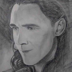 loki pencil sketch, 9 x 12 inch, neha musale,9x12inch,paper,drawings,portrait drawings,paintings for living room,paintings for kids room,graphite pencil,paper,GAL01557726345