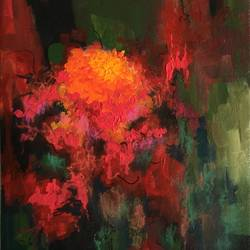 chrysanthemum, 16 x 12 inch, aparna joshi,16x12inch,canvas,paintings,abstract paintings,flower paintings,landscape paintings,nature paintings | scenery paintings,abstract expressionism paintings,expressionism paintings,impressionist paintings,paintings for dining room,paintings for living room,paintings for bedroom,paintings for office,paintings for hotel,paintings for hospital,paintings for dining room,paintings for living room,paintings for bedroom,paintings for office,paintings for hotel,paintings for hospital,acrylic color,GAL01573626426