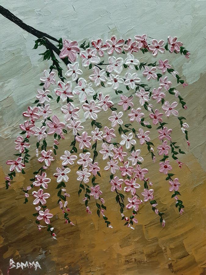 flowers, 14 x 18 inch, dr basavaraj  bommanahalli ,14x18inch,canvas,paintings,abstract paintings,acrylic color,GAL01352626495