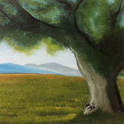 grasslands , 10 x 8 inch, nidhi choudhari,10x8inch,canvas,paintings,nature paintings | scenery paintings,surrealism paintings,paintings for dining room,paintings for living room,paintings for office,paintings for hotel,paintings for hospital,acrylic color,GAL01583526528