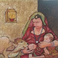 motherhood, 30 x 36 inch, shatakshi  sharma,30x36inch,canvas,abstract paintings,figurative paintings,portrait paintings,animal paintings,contemporary paintings,love paintings,baby paintings,paintings for dining room,paintings for living room,paintings for bedroom,paintings for office,paintings for kids room,paintings for hotel,paintings for school,paintings for hospital,paintings for dining room,paintings for living room,paintings for bedroom,paintings for office,paintings for kids room,paintings for hotel,paintings for school,paintings for hospital,acrylic color,wood,GAL0670326577