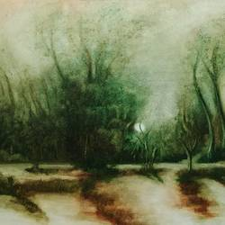 the moonlight, 20 x 16 inch, dipali deshpande,20x16inch,canvas,paintings,landscape paintings,nature paintings | scenery paintings,art deco paintings,realism paintings,contemporary paintings,paintings for dining room,paintings for living room,paintings for bedroom,paintings for office,paintings for hotel,paintings for school,paintings for hospital,oil color,GAL016326640