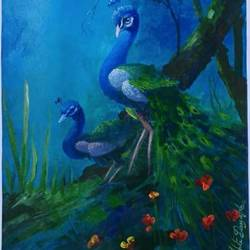 beauty of jungle, 20 x 24 inch, arpita biswas dasgupta,20x24inch,ivory sheet,love paintings,paintings for dining room,paintings for living room,paintings for bedroom,paintings for office,paintings for kids room,paintings for hotel,paintings for kitchen,paintings for dining room,paintings for living room,paintings for bedroom,paintings for office,paintings for kids room,paintings for hotel,paintings for kitchen,acrylic color,GAL01013626643
