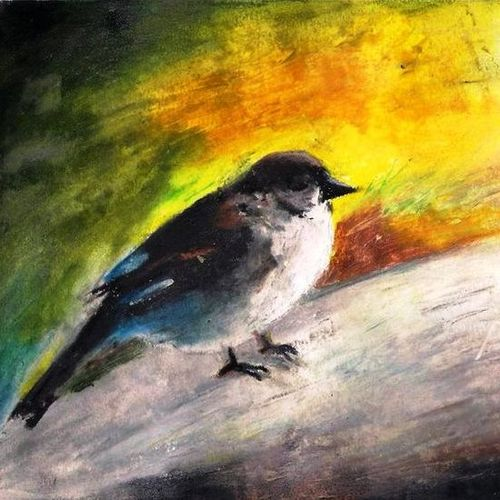 innocent creatures of nature, 10 x 12 inch, arpita biswas dasgupta,10x12inch,fabriano sheet,paintings,nature paintings | scenery paintings,paintings for dining room,paintings for school,pastel color,GAL01013626649