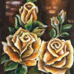 pure roses - i, 11 x 15 inch, deepa singh,11x15inch,thick paper,paintings,abstract paintings,flower paintings,paintings for dining room,paintings for living room,paintings for bedroom,paintings for office,paintings for kids room,paintings for hotel,acrylic color,GAL01060126669